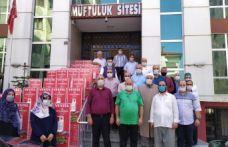 Cevahiroğlu Center'dan Kur'an Kurslarına dezenfektan yardımı