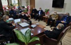 Terzioğlu'ndan Öztürk ve Sarıalioğlu'na ziyaret