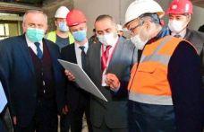 Vali Ustaoğlu Of'ta yapılan kamu yatırımlarını inceledi