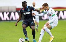 Trabzonspor Alanya'ya yine yenildi