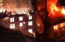 Çaltılı'da iftar saati yangın