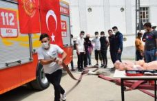 Gönüllü itfaiyecilik eğitimleri sürüyor