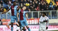 Trabzonspor Gençler'i 2-0 yendi liderliğe yükseldi