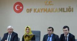 Bölgenin Rehber öğretmenleri Of'ta toplandı