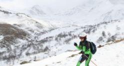 Türkiye Dağ Kayağı Şampiyonası Haldızen'de yapıldı