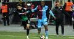 Trabzonspor Hakem Şansalan'a rağmen çeyrek finalde