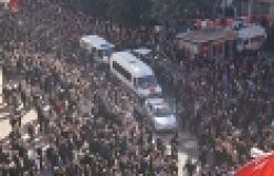 Şehit Polis Necmi Çakır Of'ta son yolculuğuna uğurlandı