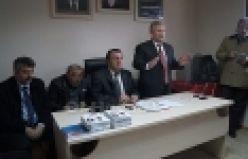 CHP'li Haluk Pekşen Of'ta partililerle buluştu