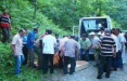 Bölümlü'de acı kaza; 2 kişi öldü, 3 kişi yaralı