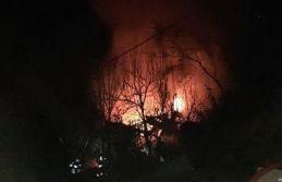 Cumapazarı'nda ev yandı
