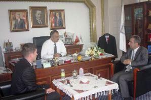 SGK'dan Başkan Saral'a ziyaret