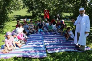 Başkan Ayaz'dan Yaz Kur'an Kursu öğrencilerine pik