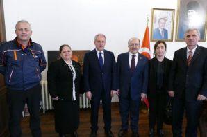 Başkan Gümrükçüoğlu STK yetkililerini kabul etti