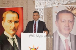 AK Parti Trabzon Aday Adayları Of'ta partililerle