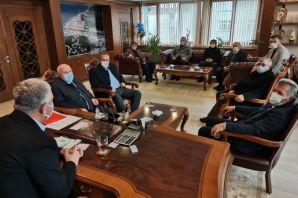 AK Parti'den kaymakam ve başkanlara ziyaret