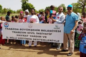 Trabzon'dan Afrika ülkelerine Kur'an-ı Kerim yardı