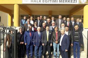 Okul Aile Birliği Başkanları eğitim için toplandı