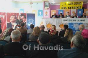 Ak Parti Çaykara ve Dernekpazarı kongrelerini yapt
