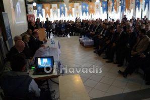 Ak Parti Hayrat İlçe Başkanlığına Öztel 2.kez seçi
