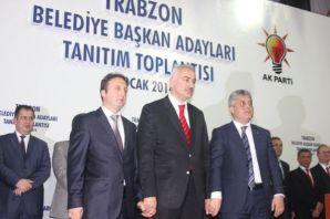 Ak Parti Trabzon ilçe adaylarını tanıttı