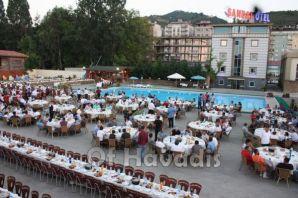 Aksoy'dan AKS İnşaat çalışanlarına iftar