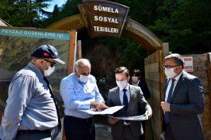 Sümela Manastırı ve Altındere Vadisi'nde çalışmalar hız kesmiyor
