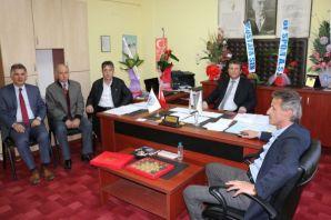 Amatör Kulüp Başkanlarından Özcan Demirel'e ziyare