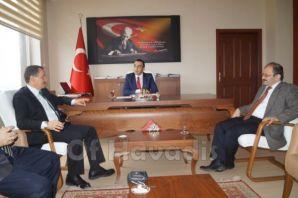 Mehmet Atalay ziyaretlere Of'tan başladı