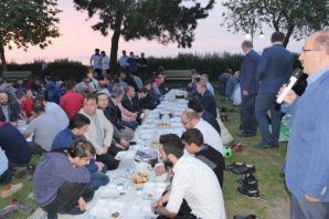 STK gönüllüleri Ayasofya'da İftar Sofrasında buluş