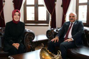 Milletvekili Ayvazoğlu'ndan Zorluoğlu'na ziyaret