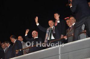 Oflulardan Başbakan Erdoğan'a Kral Karşılama