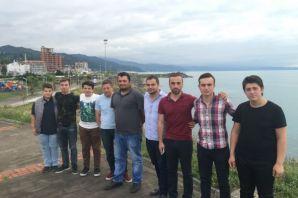 Hastikozlu gençlerden Ramoğlu Kültür Merkezi'ne zi
