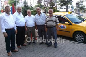 Başkan Er'den taksicilere ziyaret