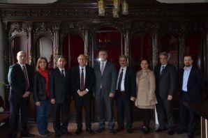 Başkan Sarıalioğlu'ndan Gazeteciler Cemiyetine ziy
