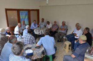 Başkan Sarıalioğlu, Çataldere'de vatandaşlarla bul