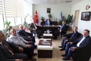 Başkan Sarıalioğlu ve Meclis Üyelerinden Yanık'a z