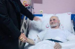Başkan Sarıalioğlu'ndan hastalara ziyaret