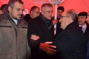 Başkan Sarıalioğlu'nun babası son yolculuğuna uğur