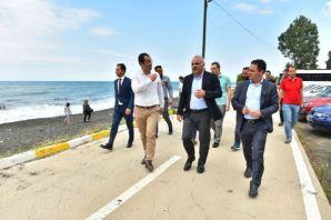 Başkan Zorluoğlu, Akçaabat Ve Sürmene'deki Halk Pl