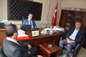 Arslan ve Sarıalioğlu'ndan Savcı Arslan'a ziyaret