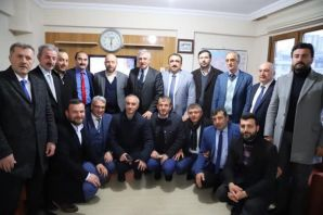 Başkanlar Terzioğlu ve Sarıalioğlu'ndan Memursen'e