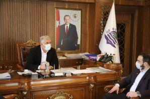 Başkan Muratoğlu'ndan Başkan Sarıalioğlu'na ziyaret