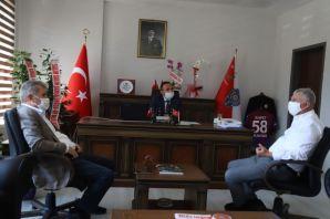 Başkan Sarıalioğlu'ndan Kantar ve Çelik'e ziyaret