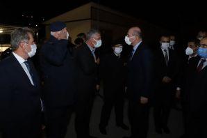 Bakan Soylu'dan Of Jandarma'ya ziyaret