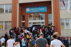 686 öğrenci Bursluluk için ter döktü