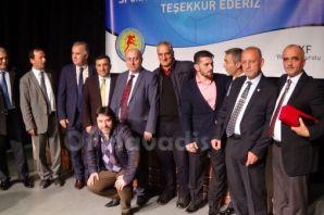 Büyükşehir ve ASKF'den başarılı sporcu ve kulüpler