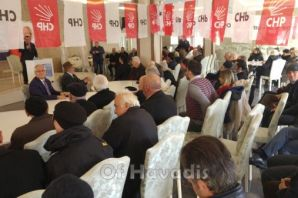 CHP Of Başkan Adayı Hilmi Saral'ı tanıttı