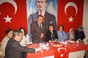 CHP İl Başkanı Güzide Uzun Of'ta