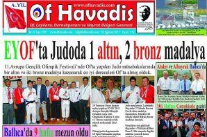 Of Havadis 202.sayı yayında