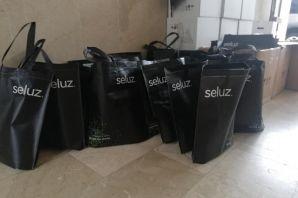 İşadamı Öztürk'ten Cumapazarılılara dezenfektan hediyesi